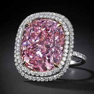 The Sweet Josephine pink diamond