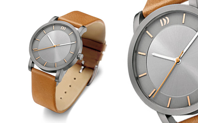 Danish Design's ion plated stainless steel case watch