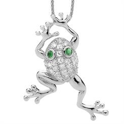 Ellani Collection's new frog pendant