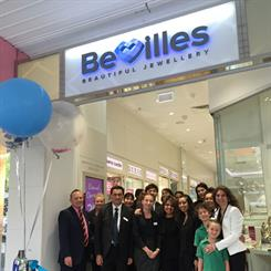Bevilles Jewellers has opened its first new store since its restructure