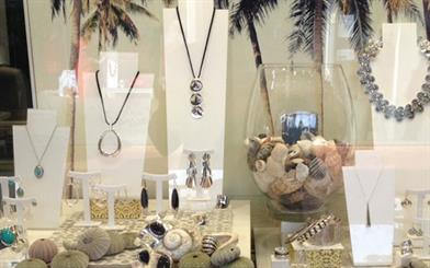Kadia Jewellery's El Mar display was voted as the best by Najo's Facebook followers