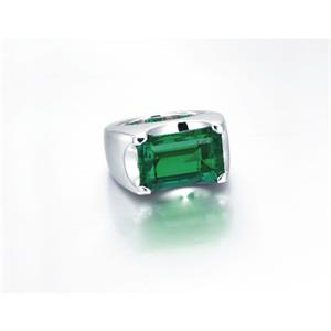 The 10.11-carat Afghan emerald ring