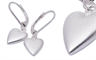 Fabuleux Vous' Heart Series Collection drop earrings