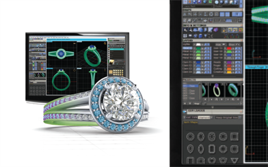Evolution Jewellers' CounterSketch International (CSI) jewellery design software