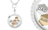 Love Lockets' hexagon-shaped charms