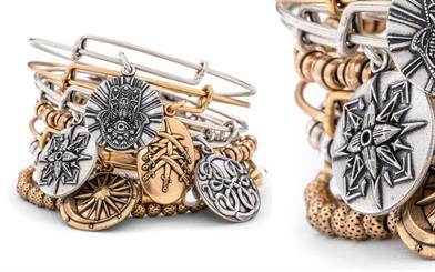 Alex and Ani's eco-conscious stackable bangle range
