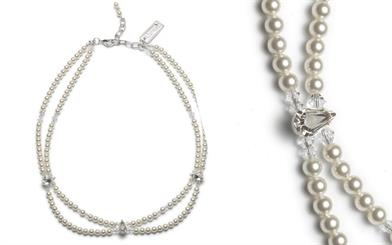 A collier from Abrazi's wedding jewellery collection