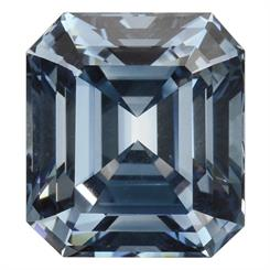 The 5.03-carat diamond is the largest faceted blue synthetic stone graded by the GIA to date