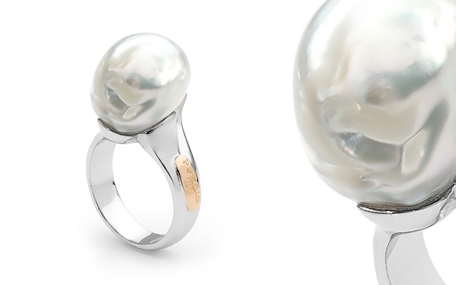 Pearl Traders/Perlis Jewellery's South Sea pearl ring