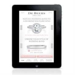 De Beers is launching a new bridal jewellery app