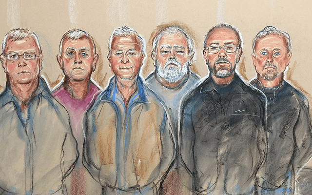 Six of the seven Hatton Garden jewellery thieves have been sentenced. Image courtesy: Priscilla Coleman/MB Media