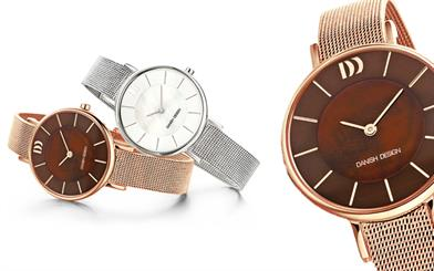 A selection of Danish Design's new range of ladies watches