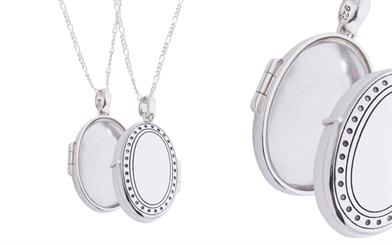 Fabuleux Vous' Tresor modern locket necklace