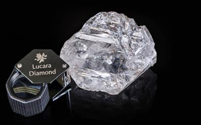 The 1,111-carat Lesedi La Rona rough diamond will be sold via live auction in the coming months