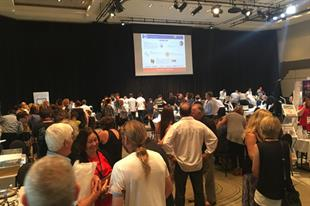 More than 100 members attended the event