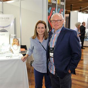 Helen Martin and Ken Abbott
