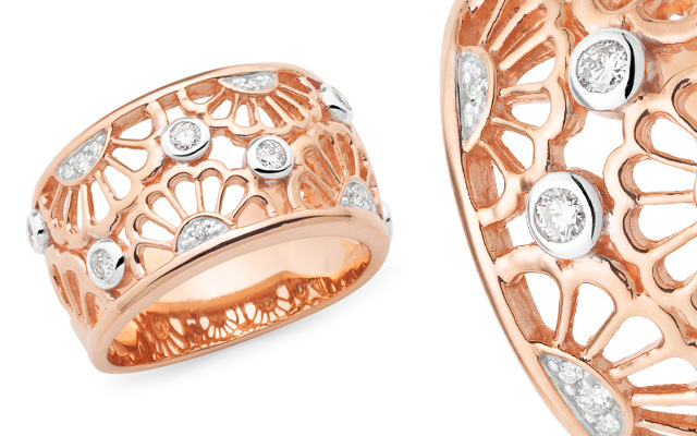Mark McAskill Jewellery's rose gold dress ring