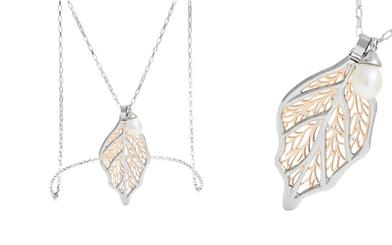 Miki Jewellery's three-piece stainless steel necklace