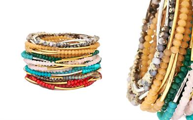 A selection of bangles from Chrysalis' Friendship collection