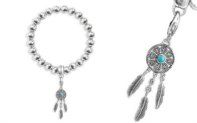 Thomas Sabo's Dreamcatcher charm and charm bracelet