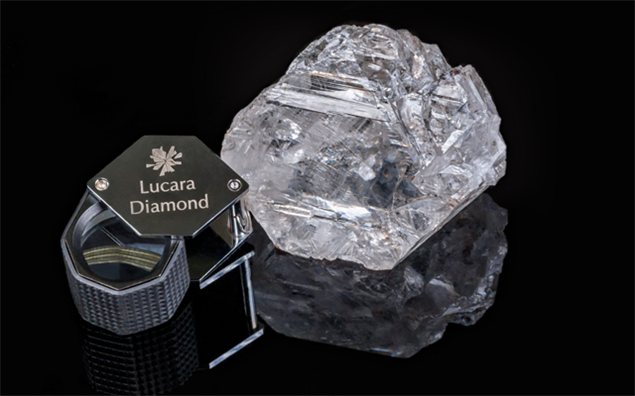The Lesedi La Rona diamond is a type IIa diamond