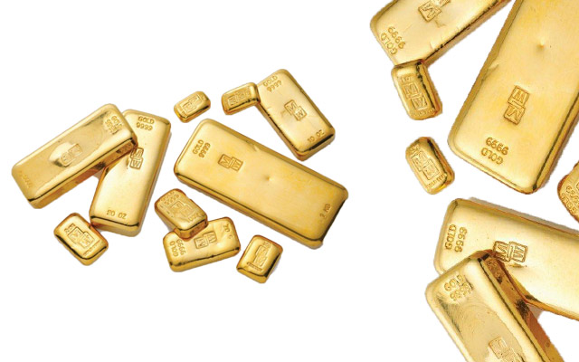 Gold bullion from Morris and Watson