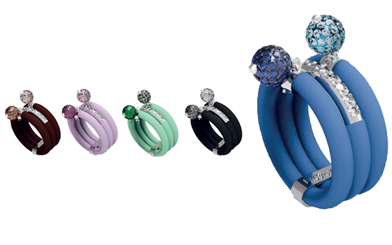 Rings from Lollo B's Bollicine collection