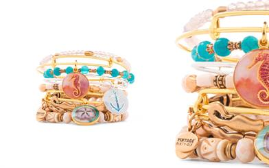 A sample from Alex and Ani's Deep Sea range