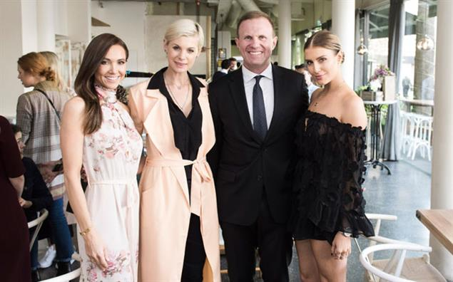 (L–R) Kyly Clarke, Kate Peck, Phil Edwards and Erin Holland