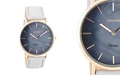 Oozoo Timepieces Australia's rose gold slimline watch