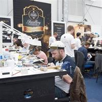 Competitors at the 2015 Jewellery Design and Manufacturing Championships