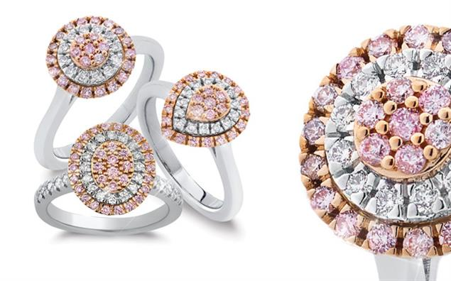 Pieces from Blush Pink Diamonds
