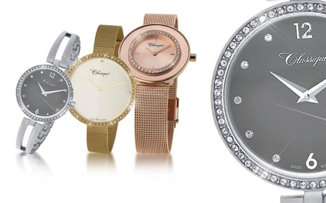 Three timepieces from Classique