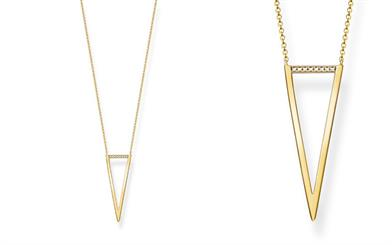 Thomas Sabo's Triangle Diamonds necklace