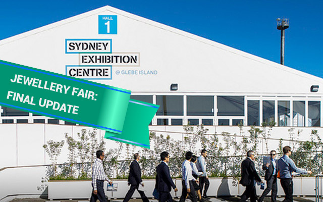 Approximately 30 first-time exhibitors are booked for the International Jewellery Fair