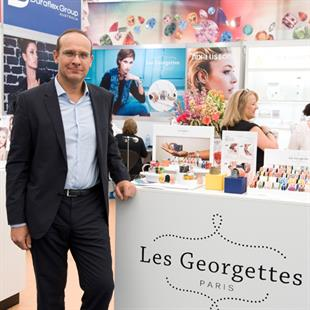 Eric Lefranc, Les Georgettes president, attended the fair