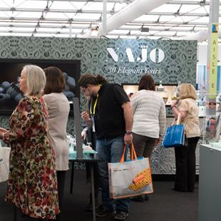 The Najo stand was busy across the three days
