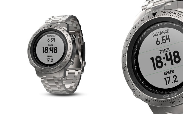 Garmin's stainless steel fenix Chronos watch
