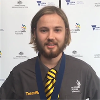 2016 WorldSkills Australia Jewellery champion Jason Nesbitt