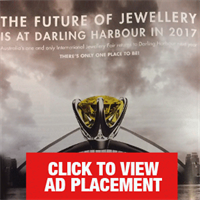 Expertise fair ad in October Jewellery World