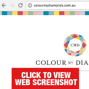 Colour My Diamonds website