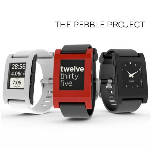 The new Pebble watch has customisable clock faces