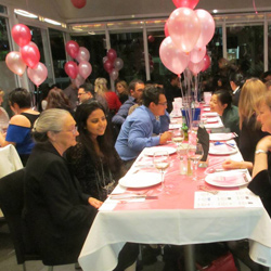 Linda & Co. Jewellers held a dinner in Melanie Goh's honour