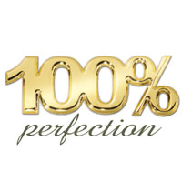 We love what we do so much we guarantee perfection. If it's not 100% perfect, we'll fix it.
