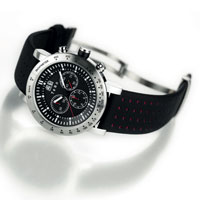 RRP $1,130 - 10 ATM Water resistant Chronograph with stainless steel case, tachymeter bezel & Sapphire glass. Made in Germany with Swiss movement. 2 year warranty