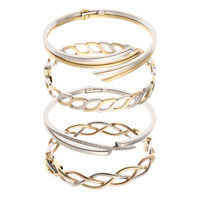 9ct gold Italian made bangles. Some models in yellow & white gold or yellow, rose & white gold, some set with diamonds. Beautiful quality and finish