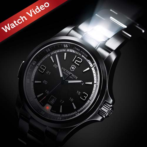 Watch Victorinox's video campaign for its Night Vision range