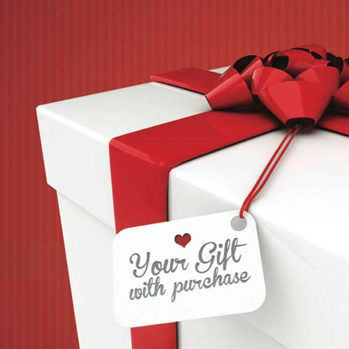 Try gifts with purchase to add value to your items instead of discounting