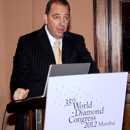 Rami Baron, vice president of the Trade and Promotion Commission of the World Federation of Diamond Bourses