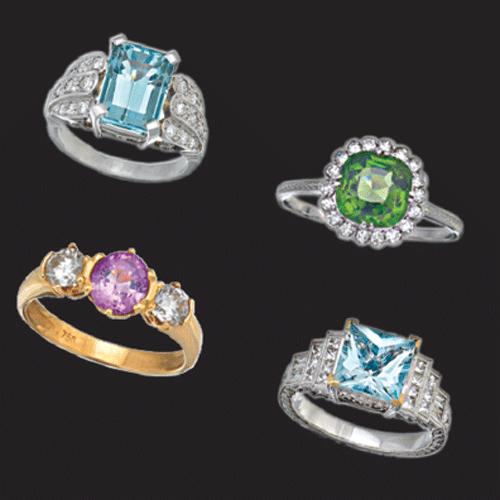 ?Coloured gems offer retailers a greater margin for a number of reasons.
